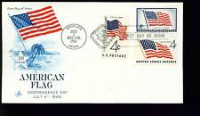 1960 FDC - Scott# 1153 COMBO - American Flag - Art Craft Cachet   #1  UA