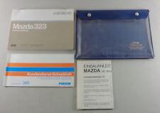 Manual de Instrucciones + Instrucciones Servicio Mazda 323 Tipo Bf Stand 1987