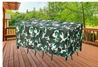 """Patio Furniture Covers, 108x78x32inch 108""""W x 78""""D x 32""""H Camouflage New"""