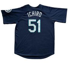 Ichiro Suzuki 51 Seattle Mariners Jersey Button Down