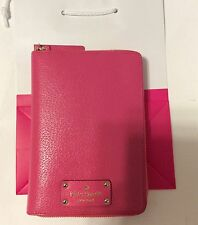 NWT KATE SPADE WELLESLEY CABARET PINK PERSONAL ORGANIZER AGENDA PLANNER