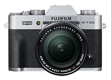 Fujifilm X-T20 24.3MP Digital Camera + XF18-55mm Lens Kit Silver *Free Shipping*