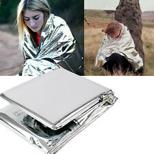 Outdoor Waterproof Emergency Rescue Space Foil Thermal Blanket Retain Body Heat