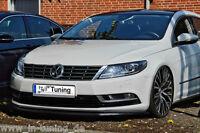 Spoilerschwert Frontspoiler Lippe Cuplippe aus ABS VW Passat CC Typ 3CC mit ABE