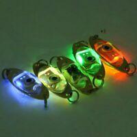 LED Night Fishing Rod Tip Clip on Fish Strike Bite Alarm Light New Alert X1V7