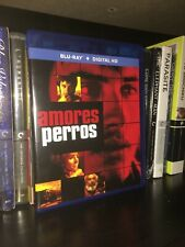 Amores Perros blu ray Region A Alejandro G Inarritu 2000 Oop out of print