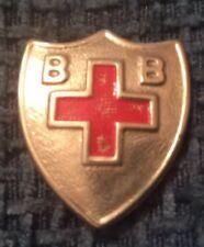 Boys Brigade First Aid Pin Badge Silver Metal Anchor 1930s