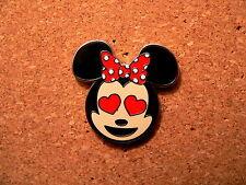 Minnie Disney Pin -  Emoji Blitz Minnie Booster - Heart Eyes Only