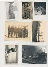 La raccolta fotografica 2.wk SOLDATI WEHRMACHT misto 9 pezzi (3253)