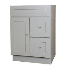 24 x 18 Grey Bathroom Vanity