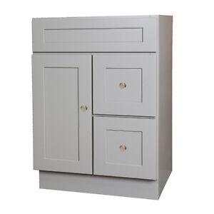24 x 18 Gray Bathroom Vanity