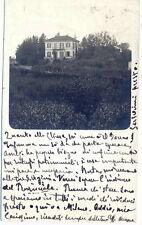 cartolina fotografica da Pusiano - Como - bella villa da localizzare 1920
