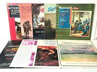 Classical Record Lot of 9 Albums Opera Tchaikovsky Walton Gershwin Don Quixote