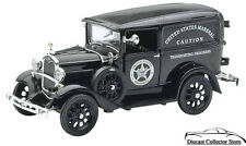 1931 Ford Model A US Marshall Paddy Wagon NewRay Diecast 1:32  FREE SHIPPING