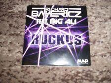 "Richard Bahericz feat Big Ali rare cd single promo 7 remixes  ""ruckus"""