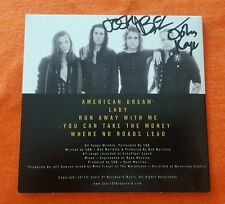 STARS OF THE BOULEVARD SIGNED CD EP YOU CAN TAKE THE MONEY AUTOGRAPH