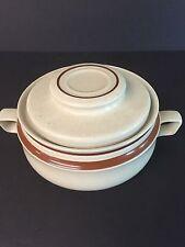 Large Contemporary Chateau Stoneware Japan Casserole Dish Bean Pot Lid Oven soup