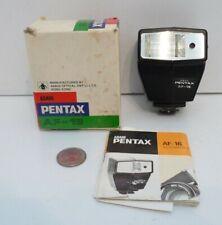 Asahi Pentax AF-16 Flash Hot Shoe Mount W/Manual Original Box !!!