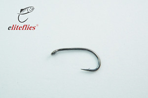 Elite Black Nickel Short Shank Special fly hook size 10 fly tying fishing trout