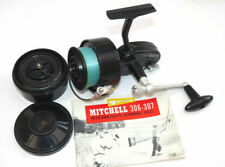 Garcia Mitchell 306 French vintage Intermediate spinning reel + spools + hand...