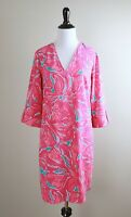 LILLY PULITZER $188 Arielle Crepe Floral Tunic Casual Dress Size Small