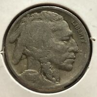 USA 1918 D Buffalo Nickel 5 Cent Denver Gute Erhaltung Selten #11088