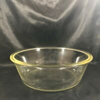 Vintage PYREX Circa 1920s #467 Clear Glass Casserole