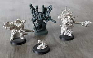 Warhammer 40k - Chaos Space Marines; Fabius Gallus; Huron Blackheart; Cypher