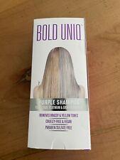 ***NEW Bold Uniq, Purple Shampoo for Blonde Hair, For Blonde, Platinum Hair