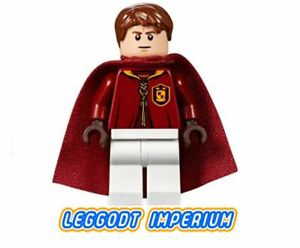 LEGO Minifigure - Oliver Wood quidditch - 2018 hp137 minifig FREE POST