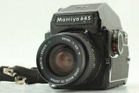 Read! 【EXC+++++】 MAMIYA M645, Sekor C 55mm f2.8 N , Prism Finder from JAPAN