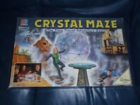 MB Milton Bradley CRYSTAL MAZE Tv Show Board Game (100% Complete)