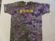 "1997 Bush Tye-Dye ""Razor Blade Suitcase"" Concert Shirt-Never Worn+Backstage Pass"