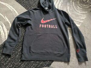 Nike Football Hooded Tracksuit Top Hoody Mens Medium