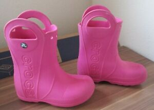 *Crocs* Kinder- Gummi- Stiefel Gr. C13 (30/31)