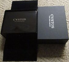 CVSTOS CUSTOS Watch Box for Challenger Evosquare Jet-Liner Twin-Time R-50 & more