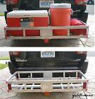 Rv Cargo Carrier Rear Suv Truck Hitch Aluminum Luggage Rack Storage Xl 500 Lbs.