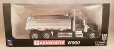 KENMORE W900 DUMP TRUCK LONG HAULER TOY MODEL1:32 SCALE BLACK SILVER NEWRAY NEW