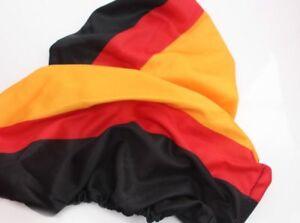 2er Set Packung Deutschland Aussenspiegel Flagge, WM 2018, Fan Größe M 29x34 OVP