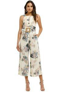 Pasduchas Tropico Pantsuit in Pearl Print Size 14