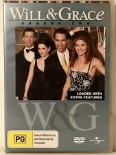 Will & Grace  Season 2 Like New DVD