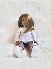 American Girl Doll, Dark Skin, Short Brown Hair, Brown Eyes, in original box