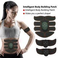 Elektrische Muskel Stimulation Sixpack Bauchmuskeltraining Fitness 8Pad Deutsche