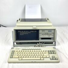 Rare Brother Wp 650 Wp650 Word Processor Electronic Typewriter Works See Vid