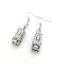 Women Men Unique Retro Antique Silver Hook Dangle Earrings Trailer Trash Car Hot