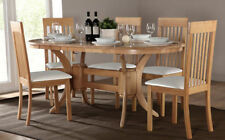 Oval Wooden Modern Kitchen & Dining Tables