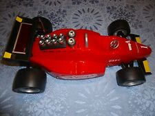 New listing MINI FORMULA 1 CLOCK ,RADIO ,ALARM. RACE CAR. FREE SHIPPING, NO RESERVE