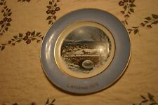 "1979 Avon Christmas Plate ""Dashing Through The Snow"" Wedgwood England 7th Ed.!"