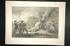 Death General Montgomery Quebec Canada Revolutionary War Battle By Trumbull H/C