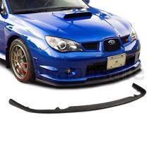 Fit for 06-07 SUBARU IMPREZA WRX S204 CS1 Style Front Bumper Chin Lip